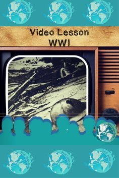 Perfect grab and go lesson for teachers! Lesson features video link, activity worksheets, note taking strategies, discussion prompts, 4 depths of knowledge questions, and project ideas all about World War I