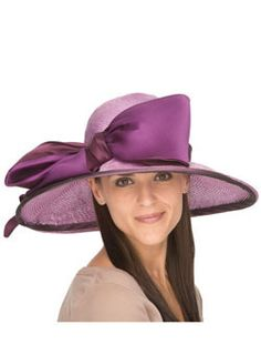 Ladies Marine Derby Hat