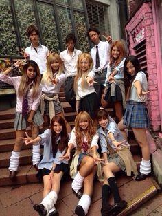 Kogal Gyaru at Shibuya. :) Gyaru girls