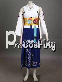 Final Fantasy Yuna Cosplay Costume