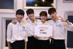 Source: BOYS24 OFFICIAL FANCAFE #BOYS24 #소년24 #minhwan #jinsub #sunghyun #hocheol #민환 #성현 #진섭 #호철 #바리스타 #barista #kpop #idol #아이돌 #유닛그린 #유닛화이트 #unitgreen #unitwhite