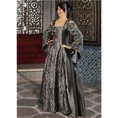 Silver Gothic Dress