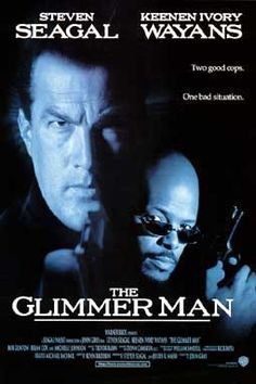 Steven Seagal Movies in Order | Details about GLIMMER MAN MOVIE POSTER 27x40 STEVEN SEAGAL 1996