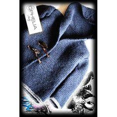 Cappottinio ai ferri per bimbi - Ophelia Italy - Knitting, Crochet, Handmade, Outfits, Italy, Macrame, Fashion, Home, Caps Hats