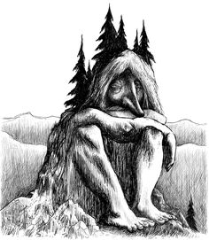 Jotun (or the Ice Giants) are giant beings of Norse mythology often associated with the Trolls, who are part of a race of nature spirits with superhuman strength, inhabiting the world of Jötunheimr, one of the nine worlds of Norse cosmology, where is separated from Midgard (the human world) mainly by mountains and dense forests.