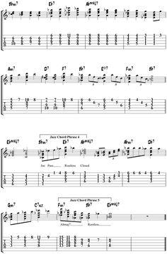 Misty Jazz Guitar Chords - Comping Study - The Jazz Guitar Blog