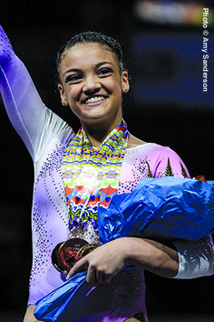 #LaurieHernandez - Rising #Gymnastics Star At Just 16 #roadtorio . read more at http://ftwsportsreport.com/laurie-hernandez-rising-gymnastics-star-just-16/