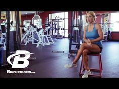 Jessie Hilgenberg's Shoulder Smash Workout - Bodybuilding.com - YouTube