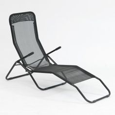 Transcontinental Outdoor Siesta Reclining Chaise Lounge - Outdoor Chaise Lounges at Hayneedle