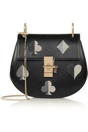 ChloéDrew small embellished leather shoulder bag