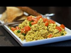 How to make Tofu Scramble - EASY Vegan breakfast scrambled eggs! - YouTube