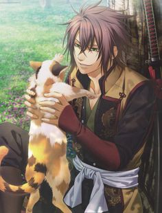 Hakuouki Shinsengumi Kitan  Picture Me: who wants to be that cat? o/