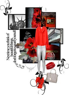 """""""red"""" by silvinalovesbsbforever ❤ liked on Polyvore"""