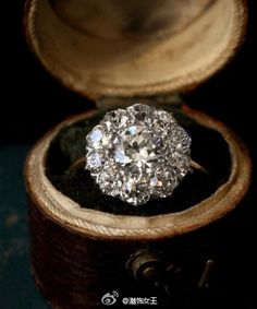 Wow! Vintage Diamond stunner, wedding ring...