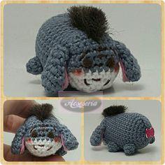 Mini tsum tsum 'Eeyore' #あみぐるみ#あみぐるみ展#kawaiiamigurumi#可愛いあみぐるみ#可愛い#crochet#amigurumidoll#minidoll#crochetdoll#brooch#crochetaddict#amigurumi#crochetlife#yarnaddict#acsesoriashop#yarnlover#bonekarajut#handmadebyme#bagcharm#keychain#gantungan#madebyorder#customorder#shipworldwide#doll#handmade#craft#crochetlover#eeyore#tsumtsum by acsesoria