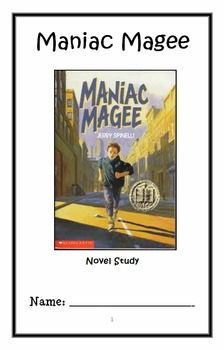 This extensive guided reading packet breaks the books up into three parts. It contains a variety of comprehension questions, analyzes the plot Close Reading, Guided Reading, Comprehension Questions, Reading Comprehension, Maniac Magee, 6th Grade English, Narrative Elements, Read 180, Context Clues