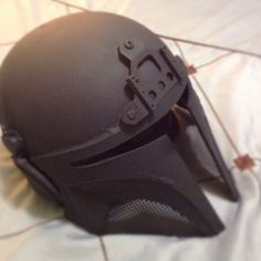 My first attempt Mandolorian tactical helmet build.