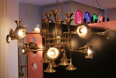 trumpet inspired lights