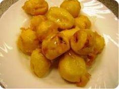Kínai sült banán Potatoes, Vegetables, Cooking, Food, Diet, Kitchen, Potato, Essen, Vegetable Recipes
