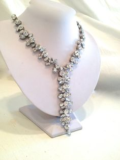 Fairy Tale Crystal Collar Necklace by WOWTHATSBEAUTIFUL on Etsy, $59.00