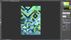 Inside The Studio: Fragmented Geometrics - Earlie Seabrocke Cool Patterns, Pattern Designs, New Series, Textile Design, Studio, Abstract, Join, Inspirational, Spring