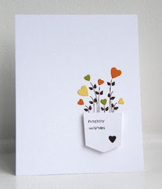 Pocket full of Posies - This is such a cute design. It would make a great anniversary card, with a tag line like - hope your love just keeps on growing?