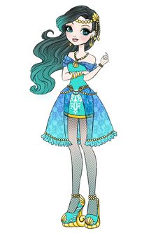 ever after high daughter of the little mermaid - Google Search