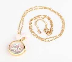 Little Twin Stars Watch Necklace: Swan brb screaming