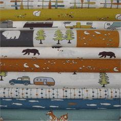 Jay-Cyn Designs for Birch Organic Fabrics, Camp Sur, Camper Rally