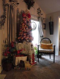 Xmas, Christmas Tree, Oasis, Holiday Decor, Home Decor, Teal Christmas Tree, Decoration Home, Room Decor, Christmas