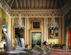 Sirena - Refrescante composición inundando este lujoso salón.