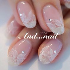 Lace French tip