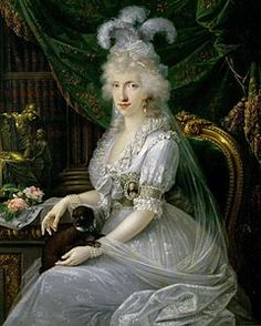 LUISA MARIA AMALIA NATA BORBONE DI NAPOLI E SICILIA(1773-1802). FU GRANDUCHESSA CONSORTE DI TOSCANA -AVENDO SPOSATO FERDINANDO III- DAL 1790 AL 1801.LA COPPIA FU DETRONIZZATA  DA NAPOLEONE
