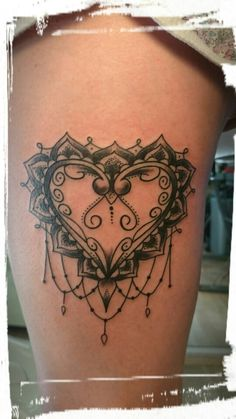 AhoiahoiTattoos#mandalatattoo#mandala#dotwork#traditional#ink#heart#hearttattoo#herz#herztattoo#