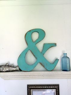 A personal favorite from my Etsy shop https://www.etsy.com/listing/247050285/ampersand-wood-word-18wood