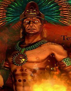 Montezuma was de leider van de Azteken. De Azteken beschouwden hem als hun god