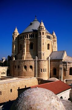 Mount Zion Dormition Abbey, Israel