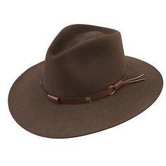 27264fff24b Details about Stetson Cowboy Hat 5X Beaver Fur Felt Mink Catera Free Hat  Brush Cleaner