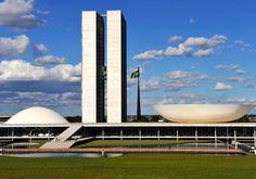 obras de niemeyer em brasilia - Google Search Palácio do Planalto - Brasilia - Brasil - 1960