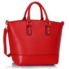 Kabelka Red Fashion Tote - červená SKLADEM