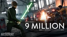 More Than Nine Million Players joined us in the Star Wars Battlefront Beta