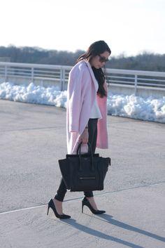 Pink Coat: Chic