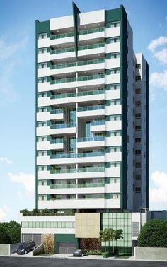 O Residencial Singulare será composto por uma torre com 40 apartamentos - Immobile Arquitetura