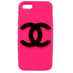 Capa para iPhone 4/4S Logo Chanel Silicone - Coronitas Acessórios