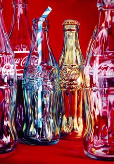 Kate Brinkworth - Coke et Stripey Straw, sérigraphie pop art nature morte rouge, art coca cola - Impression de nature morte de Kate Brinkworth – écran Coca Cola Art 2018 Pop Art Coca Cola paill - Still Life Photography, Art Photography, Landscape Photography, Fashion Photography, Wedding Photography, Coca Cola Wallpaper, Art Rouge, Straw Art, Still Life Artists
