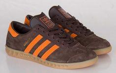 #adidas Originals Hamburg Mustang Brown #sneakers