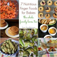 HEALTHY BABY FOOD DOESN'T HAVE TO BE PUREED. And it can be part of a meal you're making anyway. When it comes to great finger foods for babies, here are 5 of my favorites--which happen to be elemen...