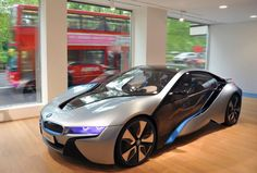 BMW i Store Showcases Electric and Hybrid Vehicles