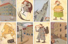 Czech illustration – Jaromír František Palme
