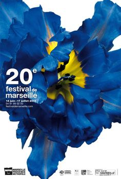 20e Festival de Marseille 2015 Web Design, Graphic Design Layouts, Graphic Design Illustration, Flyer Design, Book Design, Layout Design, Design Art, Print Design, Typography Poster